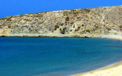 Sarakiniko Beach Crete