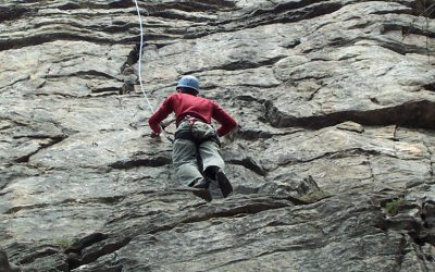 Climbing in Crete